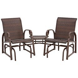 Charlevoix Tete-A-Tete Double Glider Chairs