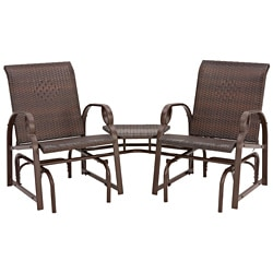 Charlevoix Tete A Tete Double Glider Chairs