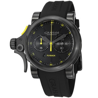 Graham Men's 'Chronofighter' Black Dial Chronograph Automatic Watch