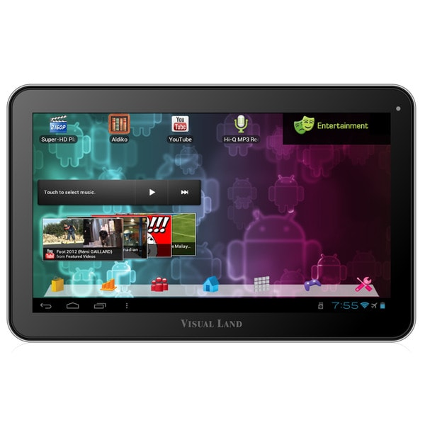 "Visual Land Prestige 10 ME-110-16GB 16 GB Tablet - 10"" - Wireless LAN"