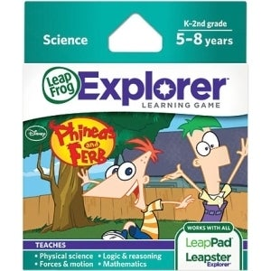 LeapFrog Explorer Game Cartridge: Disney Phineas and FerbEducation El