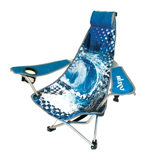 K Blue Wave 'Backpack' Chair