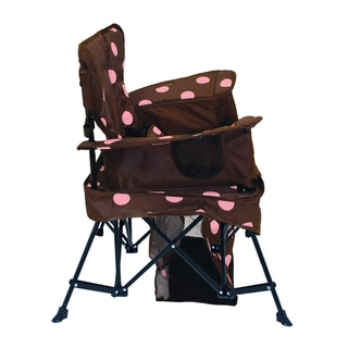 K Brown/Pink 'Go With Me' Chair