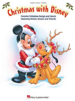 Christmas With Disney: Piano / Vocal / Guitar (Paperback)