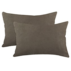 Slam Dunk Khaki Simply Soft S-backed 12.5x19 Fiber Pillows (Set of 2)