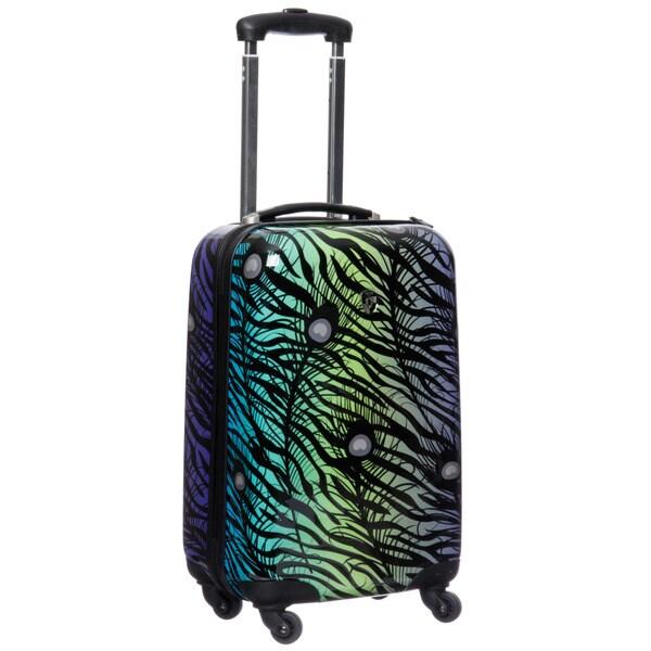 Heys USA 'Exotic Melange' 20-inch Fashion Hardside Spinner Carry On Upright