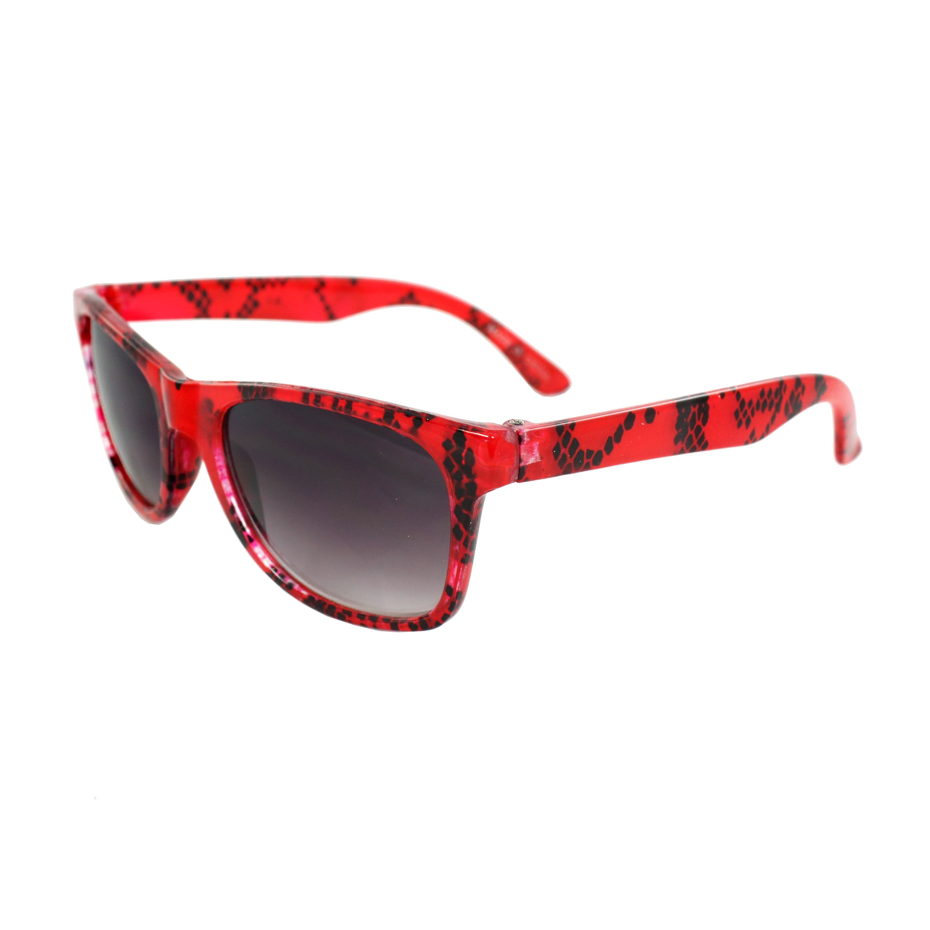 Children's K3115-RDPB Red Plastic Fashion Sunglasses