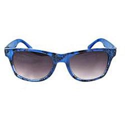Kid's K3115-BUPB Blue Oval Sunglasses