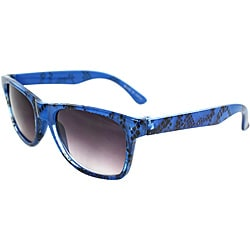 Kid's K3115-BUPB Blue Oval Sunglasses