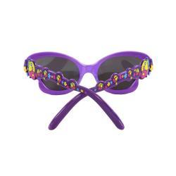 Kid's K0191-YWPKSM Purple Butterfly Fashion Sunglasses