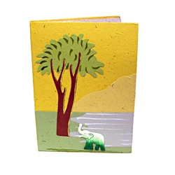 Pachyderm Yellow Stationary Pouch (Sri Lanka)
