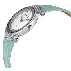 Skagen Women's Sea-blue Strap Watch