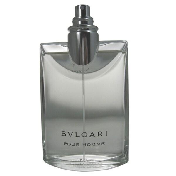 Bvlgari Pour Homme Men's 3.4-ounce Eau de Toilette Spray (Tester)