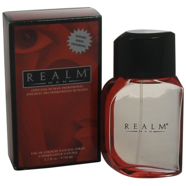 Erox Realm Men's 1.7-ounce Eau de Cologne Woody-fragrance Spray
