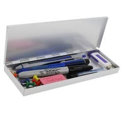 Saunders Executive Collection Aluminum Pen and Accessory Storage Box