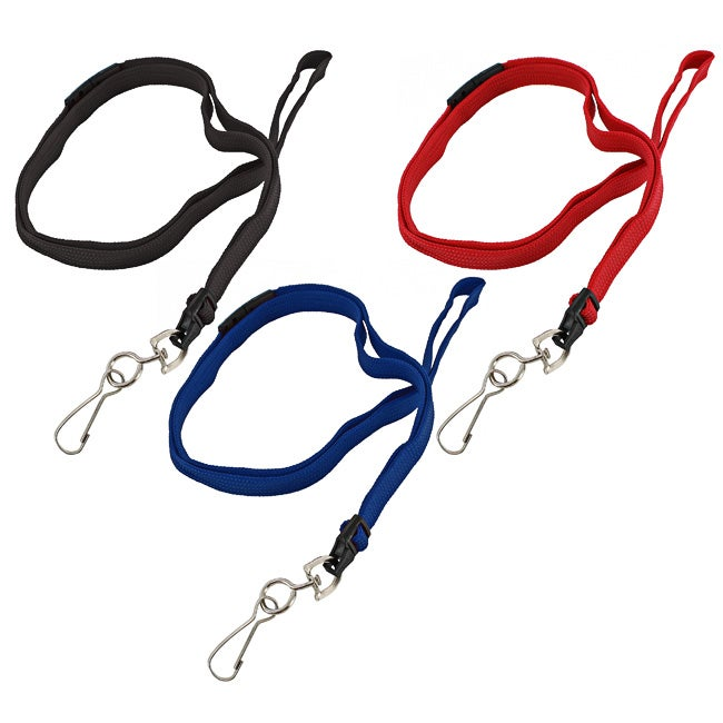 GBC BadgeMates Breakaway Lanyards with Swivel Hook (Pack of 5)