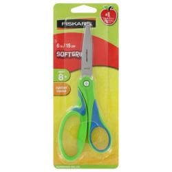 Fiskars Big Kids Six-inch Softgrip Scissors (Stainless Steel Blades)
