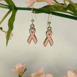 Jewelry by Dawn Breast Cancer Awareness Earrings
