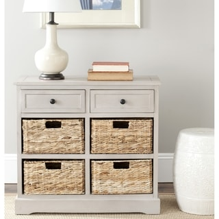 Safavieh Cape Cod 6-Drawer Grey Storage Unit