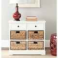 Safavieh Cape Cod 6-Drawer Cream Storage Unit