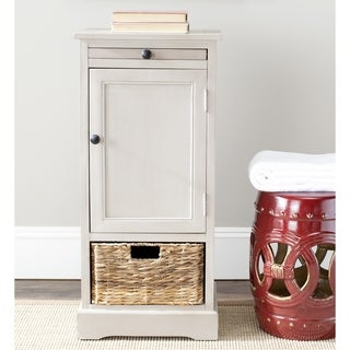 Safavieh Cape Cod 2-Drawer Grey Tall Storage Unit