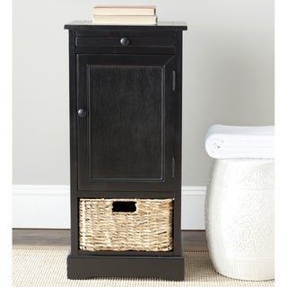 Safavieh Cape Cod 2-Drawer Black Tall Storage Unit