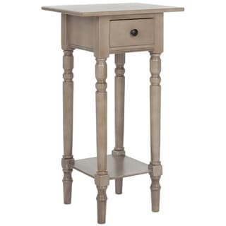 Safavieh Cape Cod Grey Night Stand