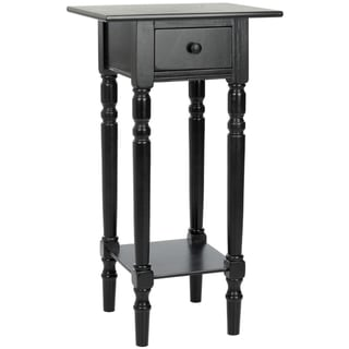 Safavieh Cape Cod Black Night Stand