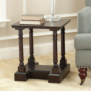 Safavieh Cape Cod Dark Cherry End Table