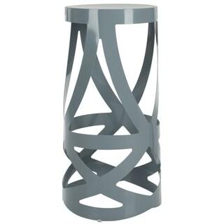 Safavieh Steelworks Flares Grey Steel Stool (Set of 2)