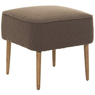 Safavieh Retro Brown Wool Ottoman
