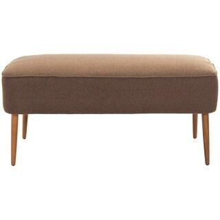 Safavieh Retro Brown Wool Bench