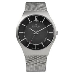 Skagen Men's Black Dial Watch