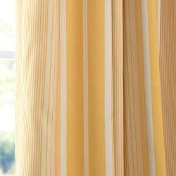 Sundip Stripe Blackout Back-tab Pole Pocket Curtain Panel