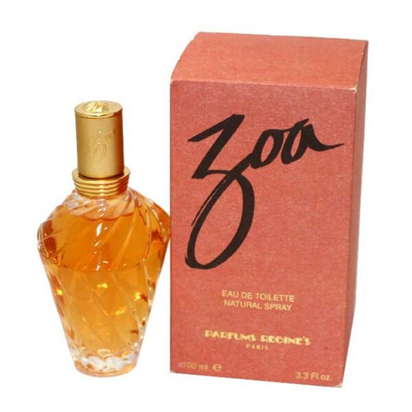 Regines 'Zoa' Women's 3.3-ounce Eau de Toilette Spray