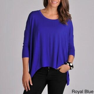 Grace Elements Women's Uneven Hem Pullover Top