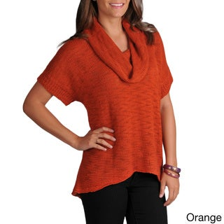Grace Elements Women's Short Sleeve Knit Sweater