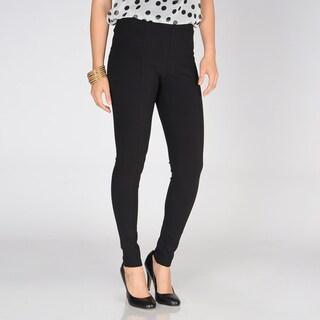 Grace Elements Women's Black Narrow Leg Ponte Pants