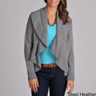 Grace Elements Women's Drape Cardigan Sweater
