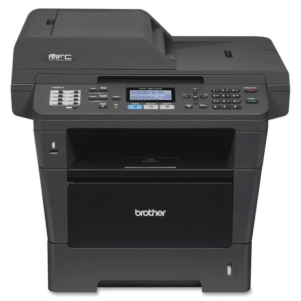 Brother MFC-8910DW Laser Multifunction Printer - Monochrome - Plain P