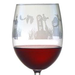 Halloween RIP 19-oz Wine Glasses (Set of 4)