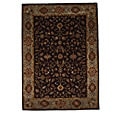 Hand-Tufted Tempest Dark Brown/Light Green Area Rug (8' x 11')