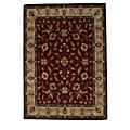 Hand-Tufted Tempest Red/Gold Area Rug (8' x 10')