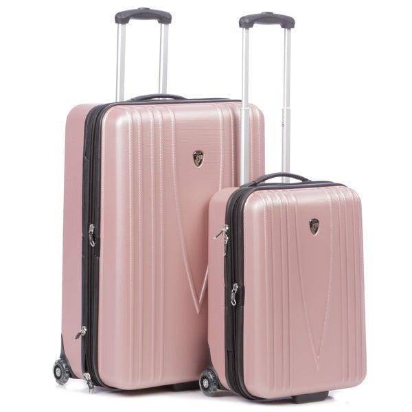 Heys USA 'Barcelona' 2-piece Hardside Wheeled Luggage Set