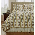 Celine Handmade Yellow 3-piece Quilt Set
