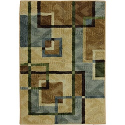Mohawk Home City Burrows Multi Accent Rug (2'6 x 3'10)