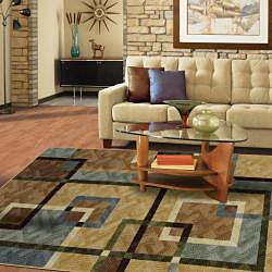 Mohawk Home City Burrows Multi Area Rug (5' x 8')
