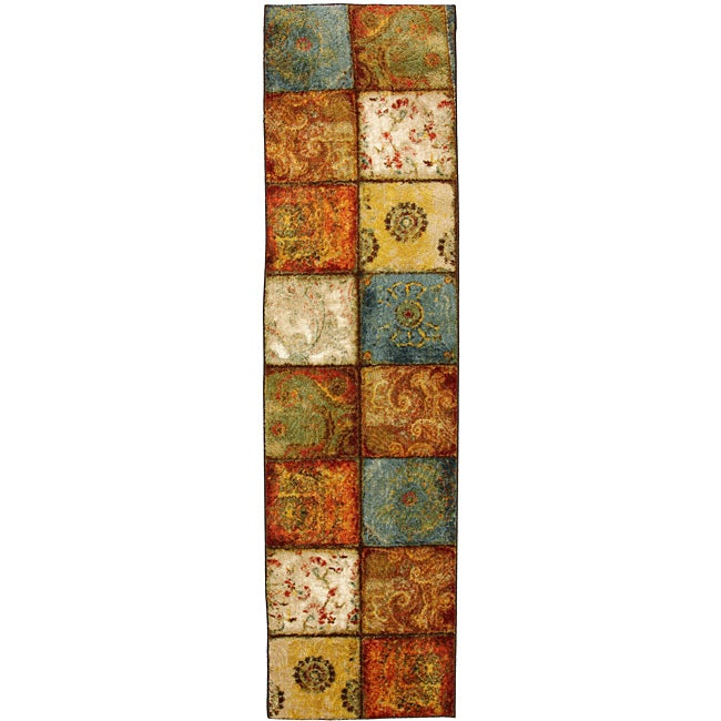 Mohawk Home City Heritage Multi Runner Rug (2' x 8')
