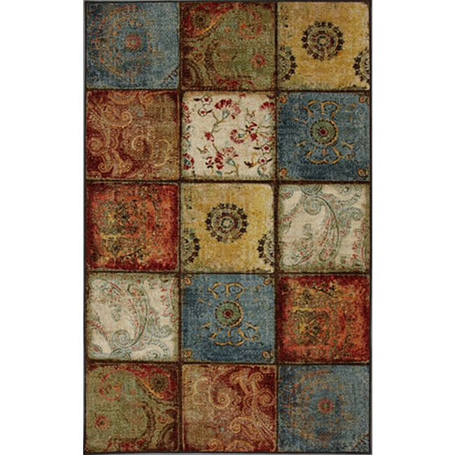 City Heritage Multi Area Rug (5' x 8')