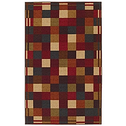 City Blocks Multi Area Rug (5' x 8')